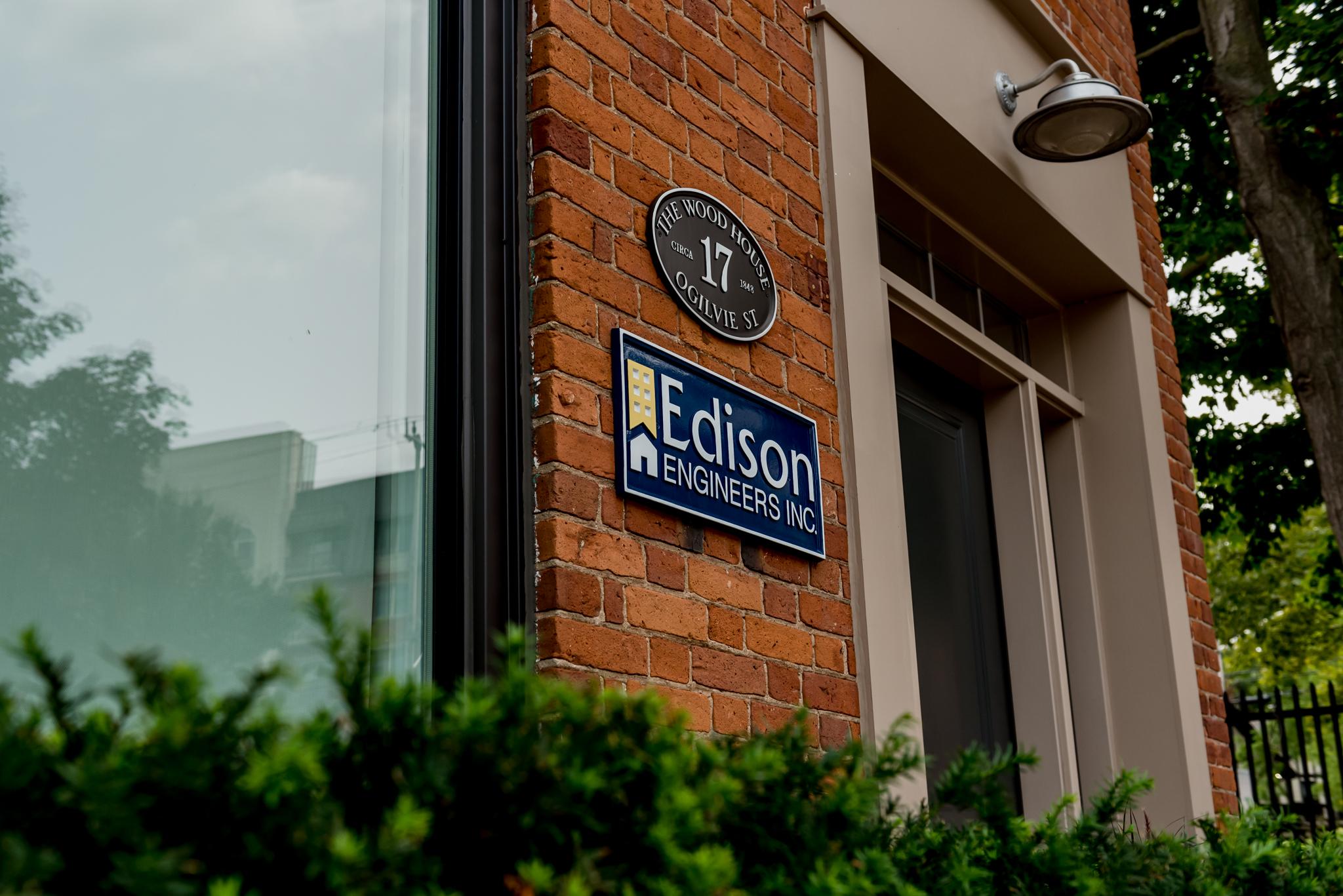 Edison Head Office Dundas, Ontario.