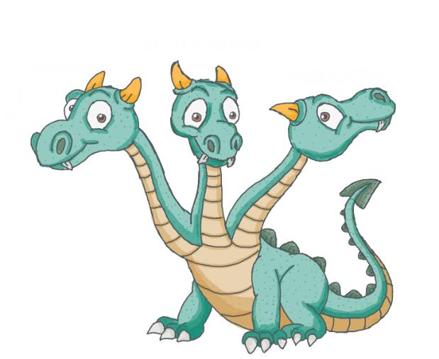 Figure 3: A Happy Attic Monster.
